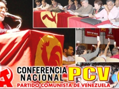 The Communist Party of Venezuela held their 14th National Conference this weekend to evaluate their endorsing of President Maduro's candidacy for the upcoming elections